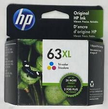GENUINE HP 63XL Tri-Color Ink Cartridge in Retail Box