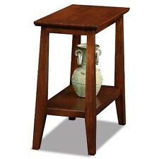 Leick Furniture 10405 Delton Narrow Chairside End Table