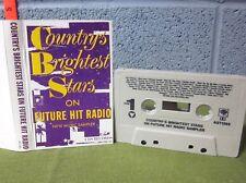 COUNTRY'S BRIGHTEST STARS cassette tape Ricky Skaggs & Charlie Daniels 1988