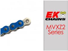 EK MVXZ2-520 MOTORCYCLE CHAIN 120 LINKS TENSILE STRENGTH 9000 lbs BLUE