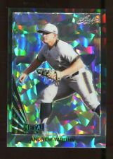 2020 Leaf Metal Rookie Andrew Vaughn Black Crystal #'d 2/5