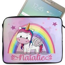 "Funda de Tablet Personalizada Unicornio Funda de neopreno Niñas Case regalo de 7"" - 10"" KS106"