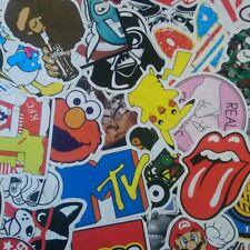 50Pcs Bomba de vinilo Laptop Equipaje coche de Skate Graffiti Pegatinas Calcomanía al azar