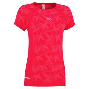 Kari Traa Womens Butterfly Tee | Workout Top Activewear | 622787