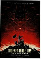 INDEPENDENCE DAY: RESURGENCE ~ IMAX PROMO POSTER ~ 13X19 ~ NEW/ROLLED!