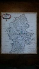 Copper Plate 1600-1699 Date Range Antique Europe County Maps
