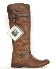 FRYE BOOTS Shirley Riding Tan Vintage Leather Riding Boots 77745 SZ 6.5 $398