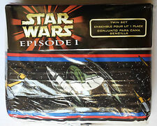 Star Wars Space Battle Twin Sheets & Valance Lot, NEW, BONUS