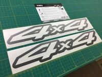 Nissan 4x4 Off Road Navara decals stickers graphics restoration replacement