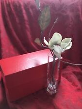 MIB FLAWLESS Exquisite BACCARAT France Art Glass PLUTON Crystal BUD FLOWER VASE