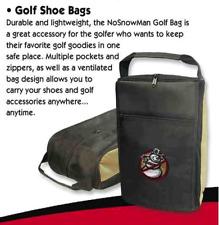 NoSnowMan Golf Shoe Bag
