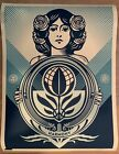 Shepard Fairey Obey Giant Protect Biodiversity Cultivate Endanger Print In-Hand