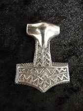 Ragnarok Thor's Hammer. Mjollnir. Viking Pendant/Necklace. Serpent, Lightning
