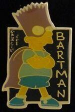 Bartman Pin Badge ~ Bart Simpson ~ Super Hero ~ Batman ~ The Simpsons