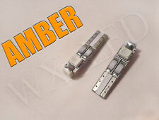 2x T5 3 SMD 1210 LED Gauge Cluster, Key Ring, Sunvisor, Shifter Led Bulb Amber**
