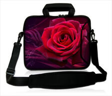 "15""-15.6"" LAPTOP BAG WITH HANDLE & STRAP CASE 15INCH LAPTOP BAG ""rose2"""