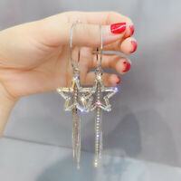 Gorgeous 925 Silver Drop Earrings for Women Jewelry Free Shipping A Pair/set