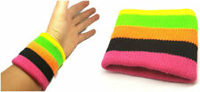 Gay Pride Sports Sweatbands Head band Wrist Bands Gym Cycling SWEAT BANDS x2