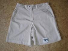 (Size 10) Bette & Court Women's 4 Pocket TAN Adjustable Waist Golf Shorts