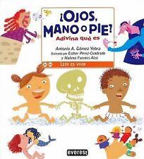 ¿Ojos, mano o pie? Adivina qué es (Spanish Edition)-ExLibrary
