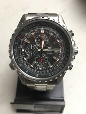 CASIO EDIFICE CHRONOGRAPH STAINLESS STEEL WATCH