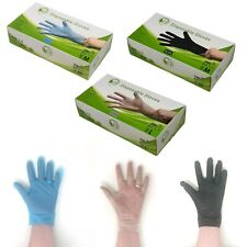 TPE Disposable Gloves - 100% Recyclable / Thick / Latex Free / Vinyl Free
