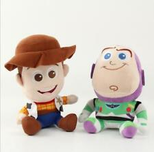 Disney Movie Toy Story 3 Character Woody Buzz Lightyear Plush Soft Toys 2Pcs Set