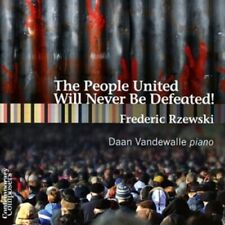 1-CD FREDERIC RZEWSKI - THE PEOPLE UNITED WILL NEVER BE DEFEATED - DAAN VANDEWAL