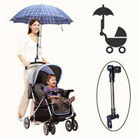 Useful Baby Pram Stroller Accessories Umbrella Holder Mount Stand Handle