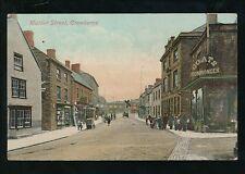 Somerset CREWKERNE Market St Coats Ironmonger c1900s? PPC
