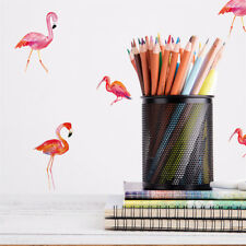 Creative Flamingo Wall Stickers For Girls Bedroom Window Wall Decals DIY~