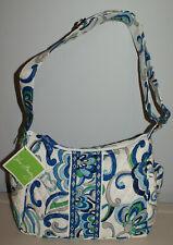 Vera Bradley Mediterranean White On The Go Shoulder Bag Purse NEW NWT