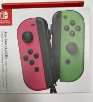 Nintendo Switch Joy-Con (L/R) Wireless Controller Neon Pink Neon Green Brand New