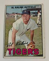 1967 Al Kaline # 30 Detroit Tigers Topps Baseball Card HOF