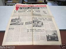 L AUTO JOURNAL N° 98 15 mars 1954 Nouveaux prix de l occasion *