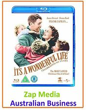 It's a Wonderful Life: 65th Anniversary Edition [Blu-ray & BRAND NEW]