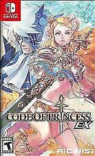 Code of Princess EX Launch Edition With Goodies Inside(Nintendo Switch, 2018)