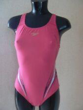 Speedo Women's Placement Powerback Print  Swimsuit Swimming Costume UK 12 / 34