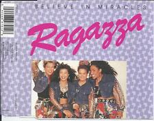 RAGAZZA - I believe in miracles CD SINGLE 3TR Europop 1989 HOLLAND RARE!!