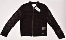 Superdry Women's Analee Lacy Bomber Jacket Black Size M / UK 12