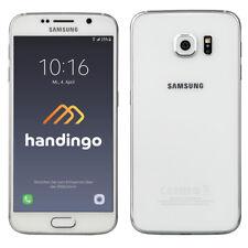 Samsung Galaxy S6 Weiss SM-G920F Smartphone 32GB Akzeptabel Sehr Gut Top Angebot