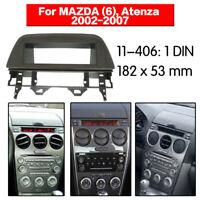 Car Radio Installation Trim Fascia for MAZDA 6 Atenza 2002-2007 Grey Audio Frame