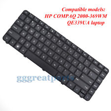 KEYBOARD for HP COMPAQ 2000-369WM QE339UA Model BLACK US LAPTOP  W8 key