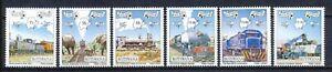 BOTSWANA 1997 - BOTSWANA RAILWAY CENTENARY 1897-1997 - MNH SET 0F 6       Hk603b