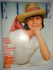Vtg Elle French 4/1969 Karim Aga Khan Serge Gainsbourg 1960s Fashion ads Chanel