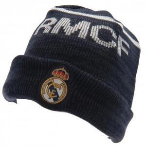 Real Madrid Navy Knit Hat