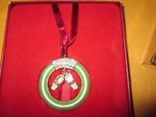Lenox Baby Jewels Baby Boy Silverplated Ornament 2005