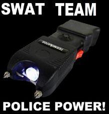 SWAT TEAM POLICE SIREN  90 Billion Volt Stun Gun LED FlashLight + Tazer Holster