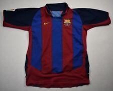 Nike 2003-04 FC BARCELONA koszulka L. BOYS Shirt Jersey Kit