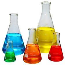 Glazen Flessen 5-delige Set, smalle mond Erlenmeyer, Borosilicaat 3.3 Glas